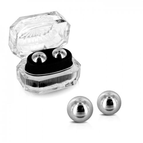 Ben Wa Silver Love Balls