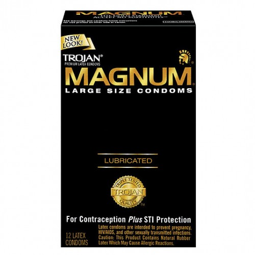 Trojan Magnum Large x 12 Condoms