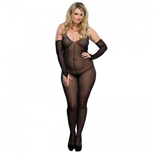 Leg Avenue Daisy Bodystocking UK 16 to 18