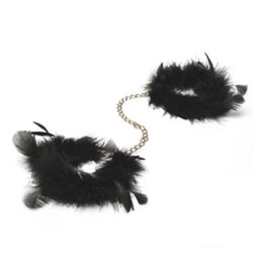 Bijoux Indiscrets Za Za Zu Maribou Feather Handcuffs