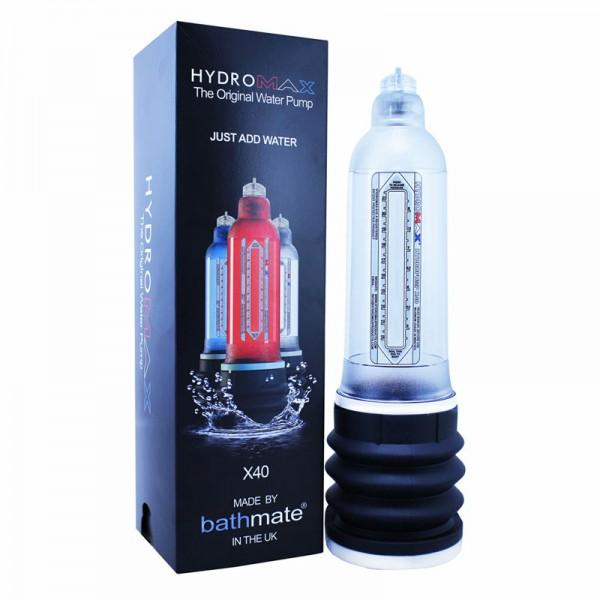 Bathmate HydroMax X40 Clear Penis Pump