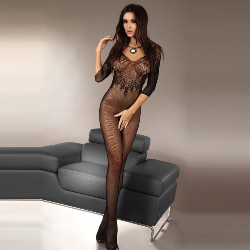 Corsetti Josslyn Crotchless Body Stocking UK Size 8 to 12