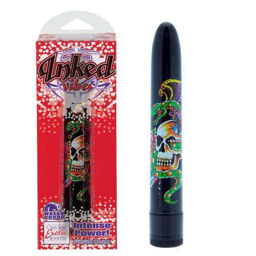 Inked Vibe  Superslim Black Vibrator
